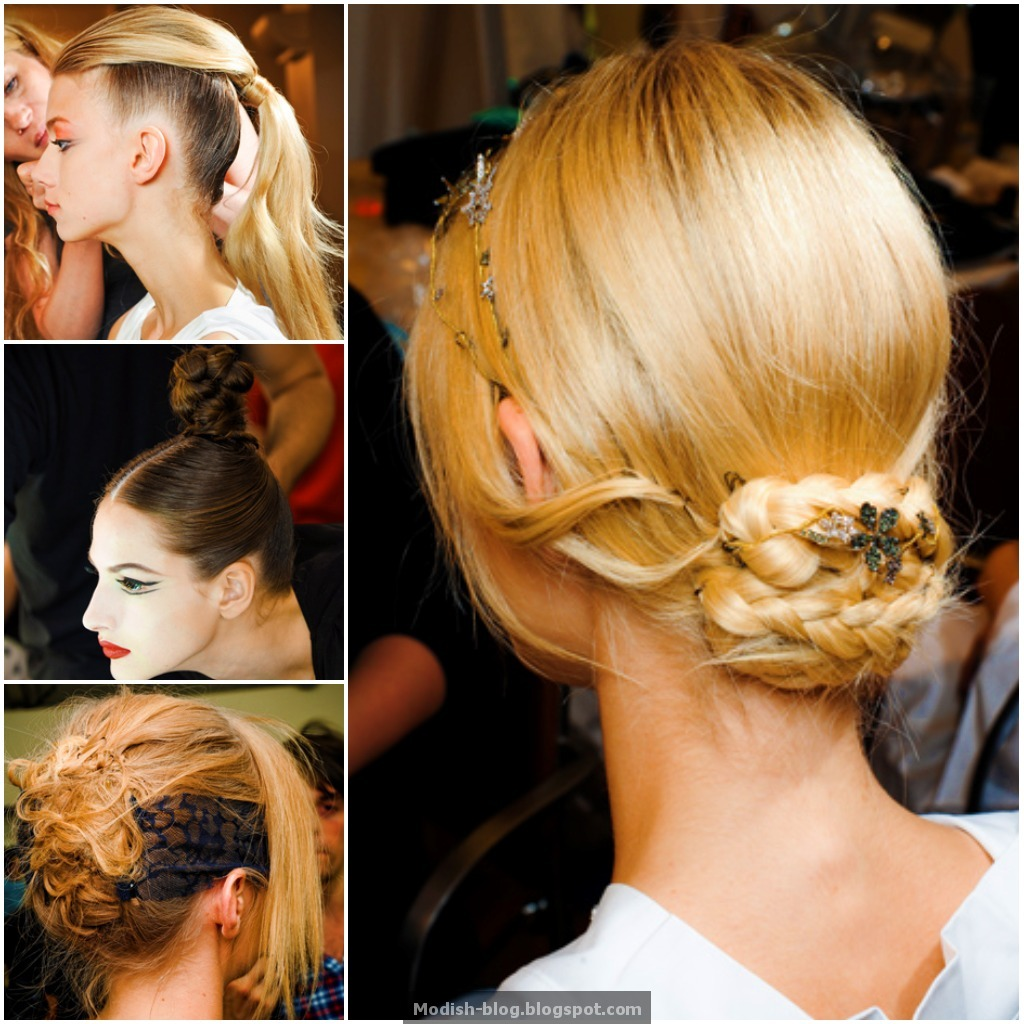 Modish blog paris fall 2011 haute couture hair makeup for Haute hairie
