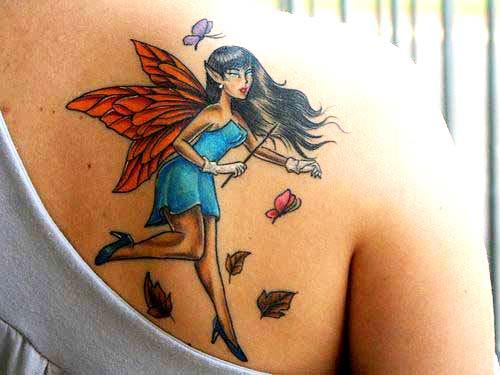 tatuagem fada