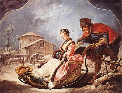 Winter by Francois Boucher, 1755
