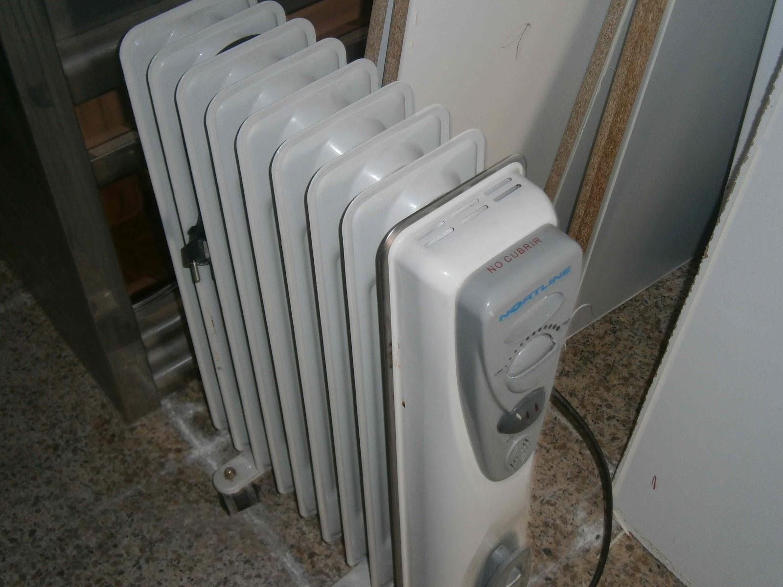Super chollos ocasi n calefactor radiador y caja de cobro - Radiador electrico precio ...