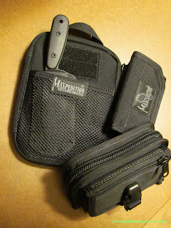 Maxpedition EDC Pocket Organizer - Shown With Maxpedition Rat Wallet and Maxpedition CMC Wallet