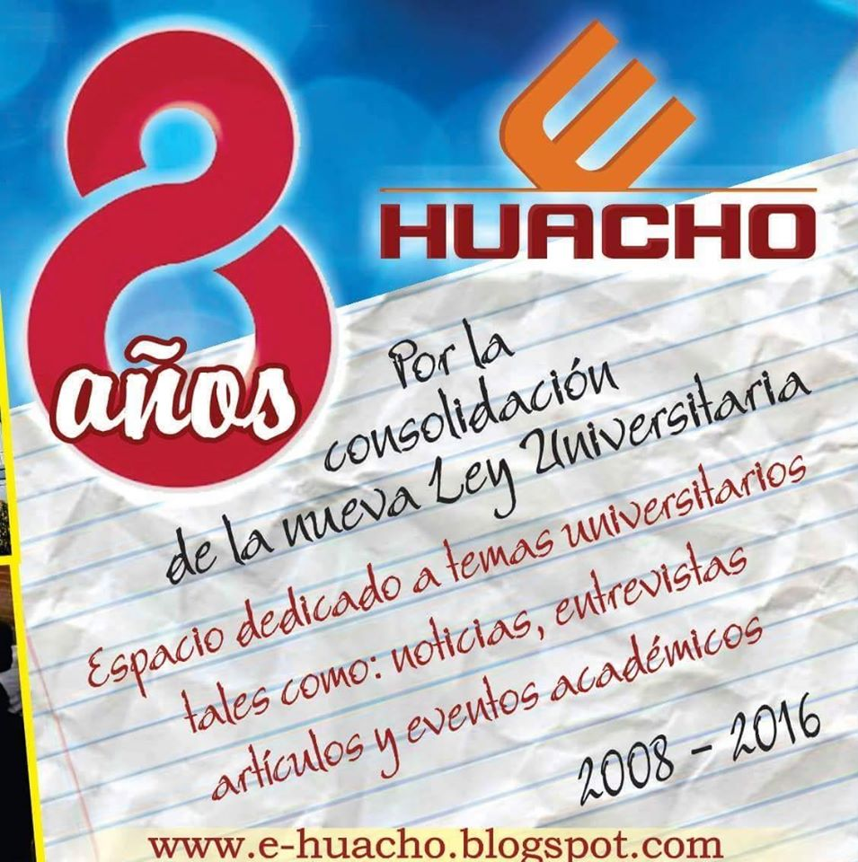 Entrevista con motivo de los 8 años de E-HUACHO