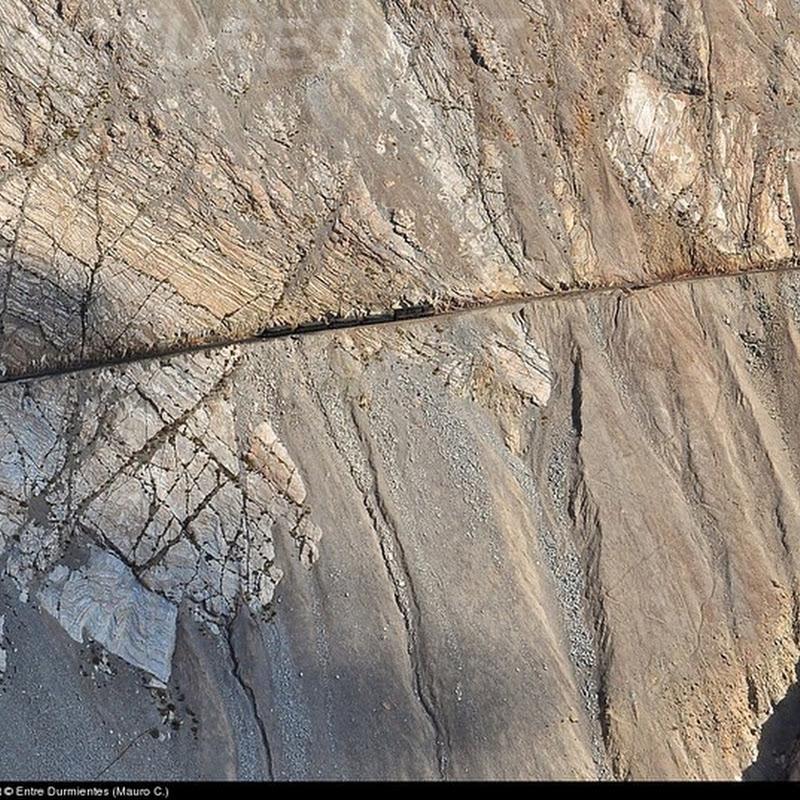 El tren minero de Los Andes y sus vertiginosos paisajes