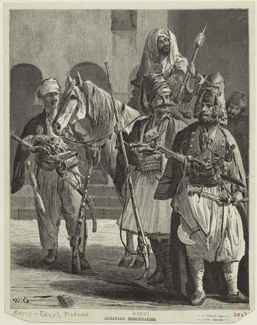 Albanian Mercenaries(Εgypt)
