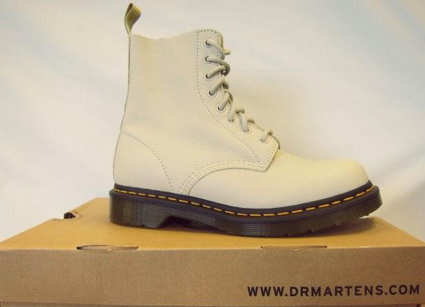 Ivory Elk Dr Martens 1460 Boots
