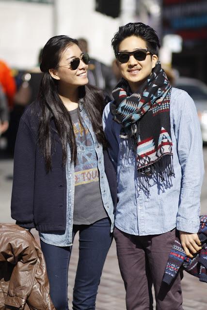 Hannah Jun Tim Jo chambray shirt The Neighbors seattle Pike Place Market