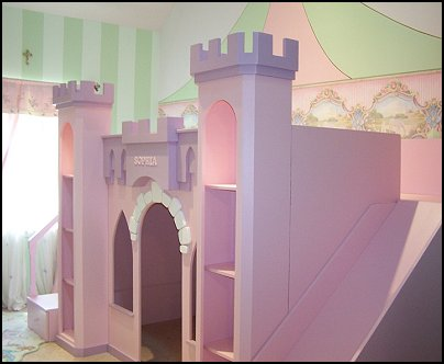 castle princess bedroom | Best Green Home Ideas