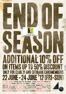 Club 21 End of Season Sale 2012