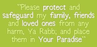 doa untuk yang dikasih