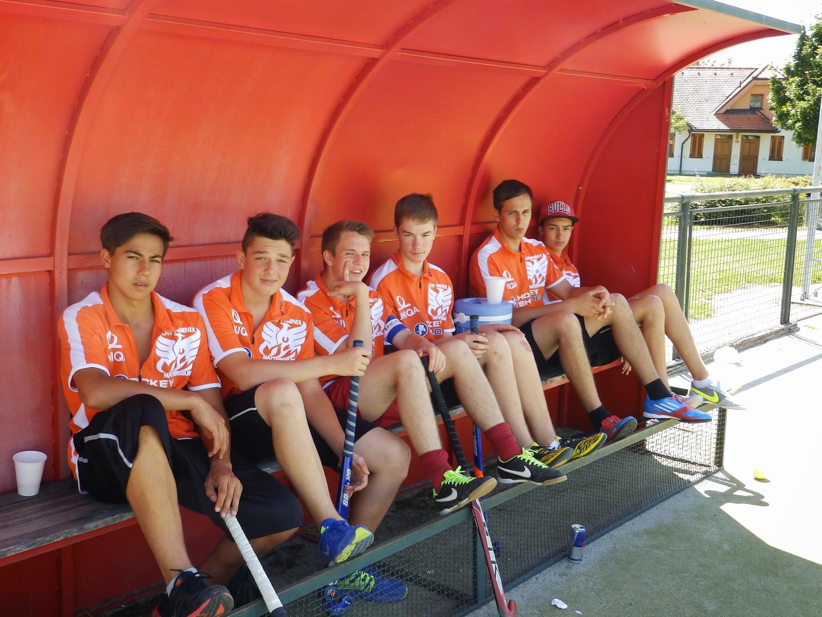U18-Team des LHV Phönix Mattersburg