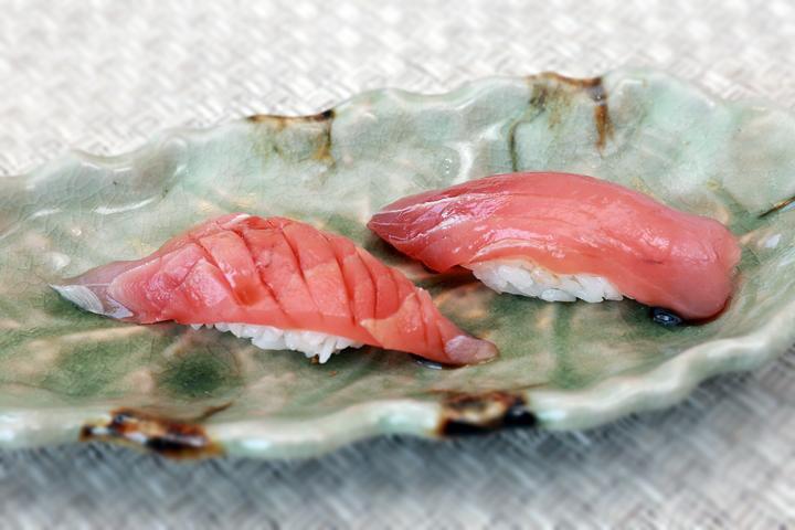 鮪魚+旗魚 握壽司
