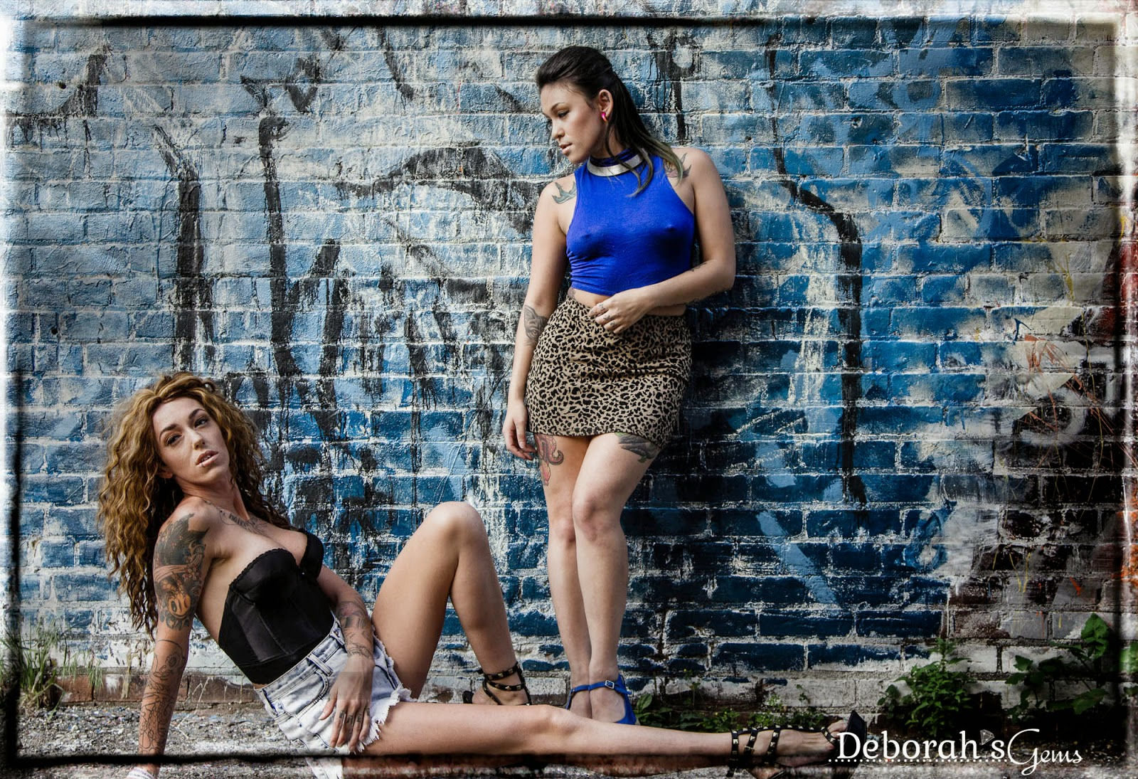 Jasmine & Onikaa - photo by Deborah Frings - Deborah's Gems