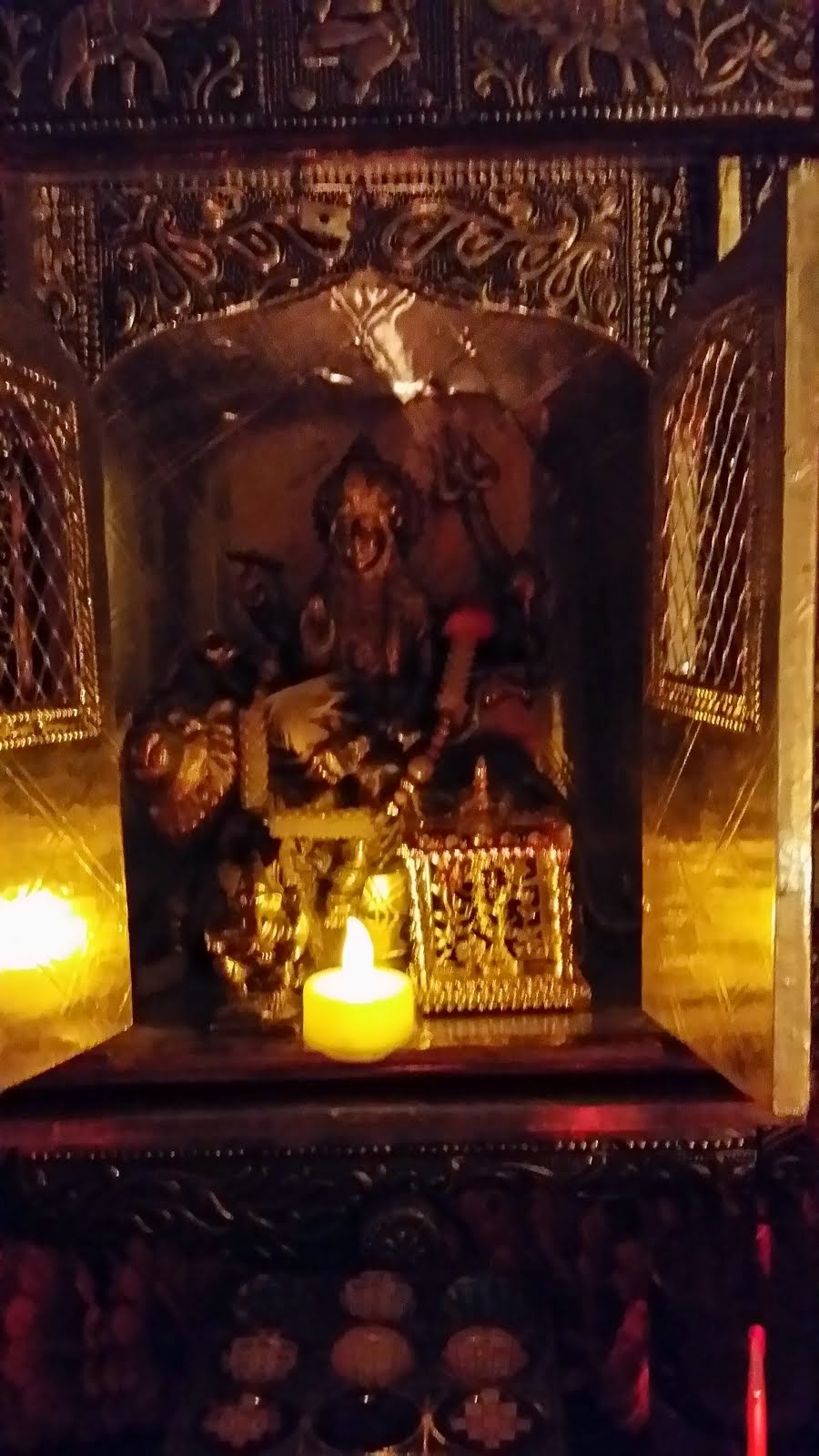 This is the Tantric Altar in meditation room
