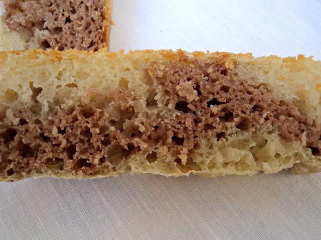 pan, castañas, harina, receta casera