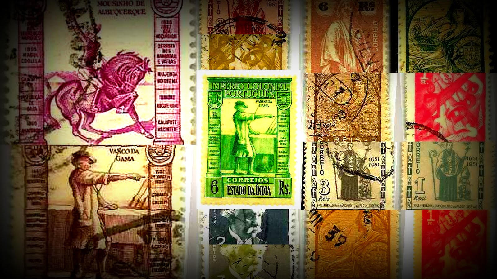 My Portuguese India Stamps