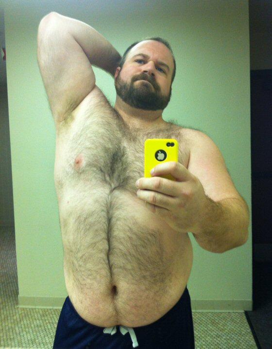 Gay Muscle Bear Belly