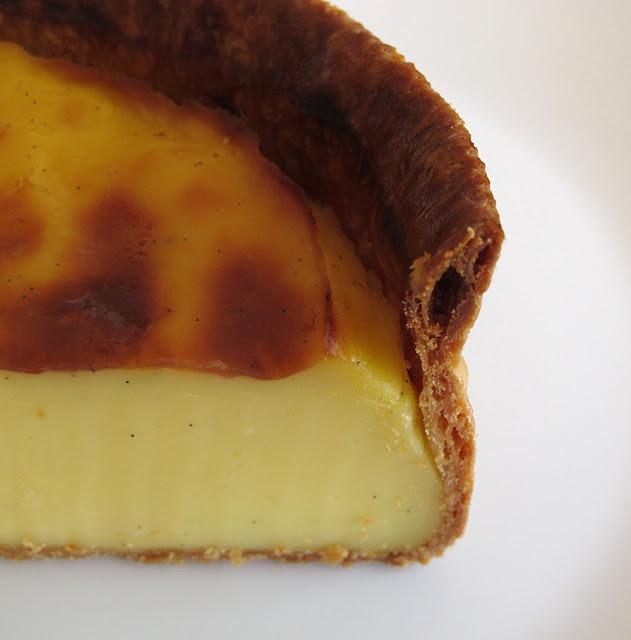 Pâtisserie Mori Yoshida - Paris - Flan pâtissier