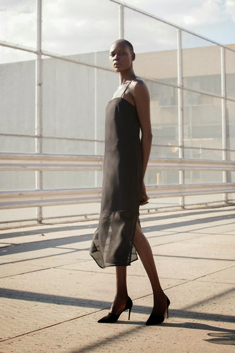 Nomia ss14 look book slip dress