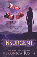 Insurgent UK cover by Veronica Roth
