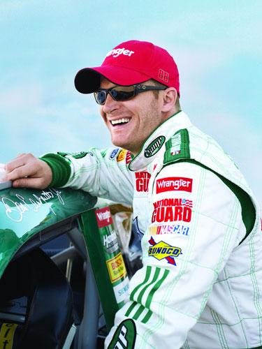 Sports Players: Dale Earnhardt Jr Race Car Driver