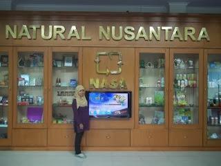 Hall Kantor Pusat PT. Natural Nusantara (NASA) Yogyakarta
