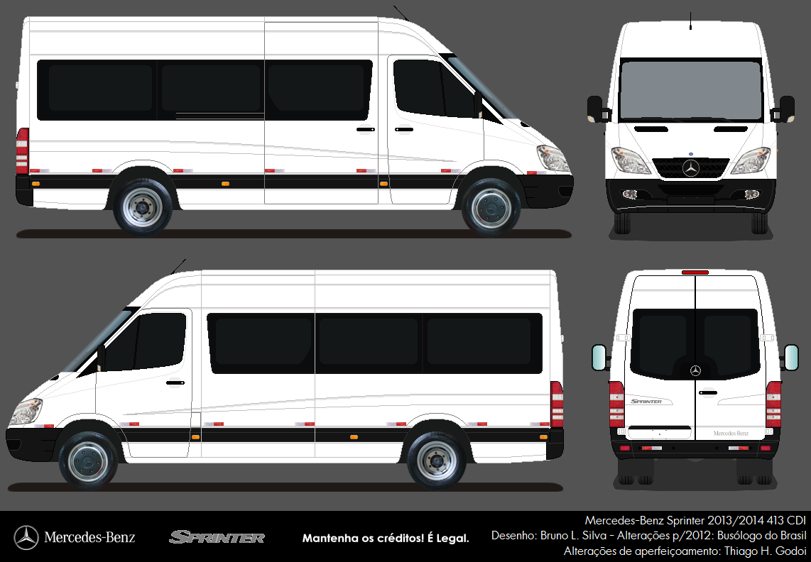 clube do nibus bus club mercedes benz sprinter 2013. Black Bedroom Furniture Sets. Home Design Ideas