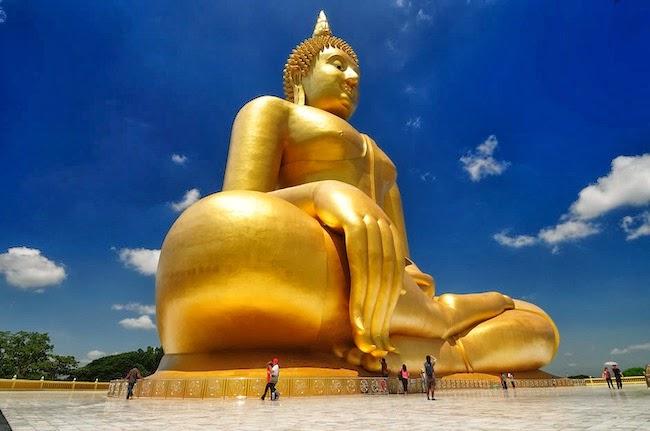 Patung Buddha Terbesar