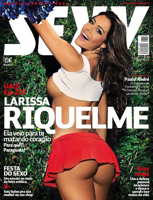 Larissa Riquelme Full Frontal In Sexy Magazine