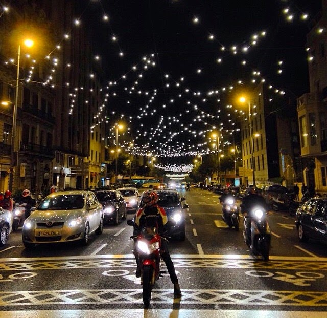 estrellas cielo luces navidad 2014 mágia iluminación decoración mágica barcelona bcn