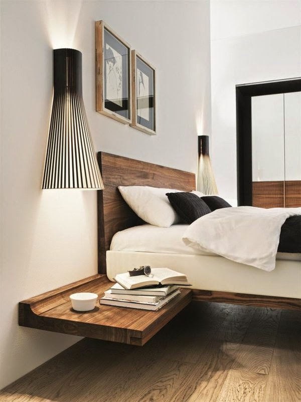 Modern Bedside Table 15 small wooden bedside table designs in modern style