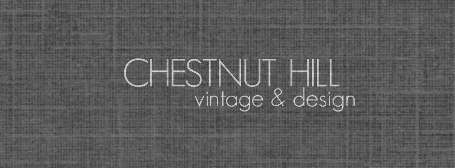 CHESTNUT HILL vintage and design