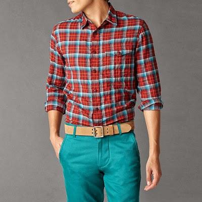 camisa cuadros hombre Dockers otoño invierno