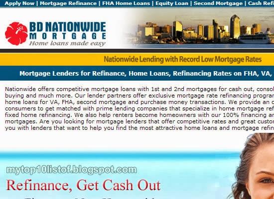 Meryem Uzerli: Top 10 List of Mortgage Lenders 2013