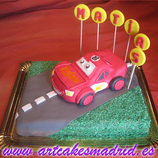 Curso de tarta Cars