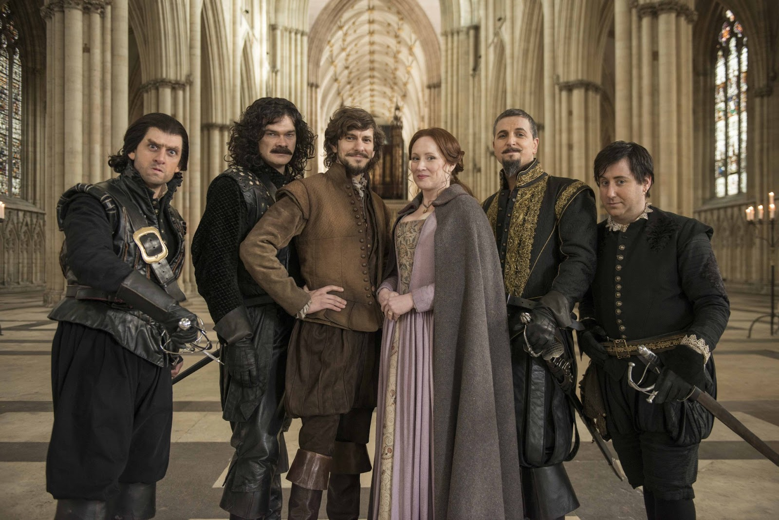 Bill The cast of BILL at York Minster (From left to right: Laurence Rickard as Lope, Simon Farnaby as Juan, Mathew Baynton as Bill, Martha Howe-Douglas as Anne, Ben Willbond as King Philip II of Spain, Jim Howick as Gabriel)