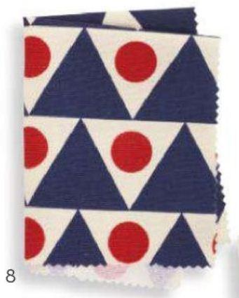 2013 Fabrics Pattern PENNANT Linen/cotton
