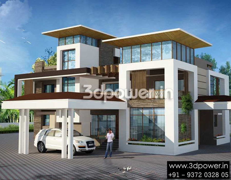 Ultra modern home designs home designs 20 bungalow designs for Homes plus designers builders inc