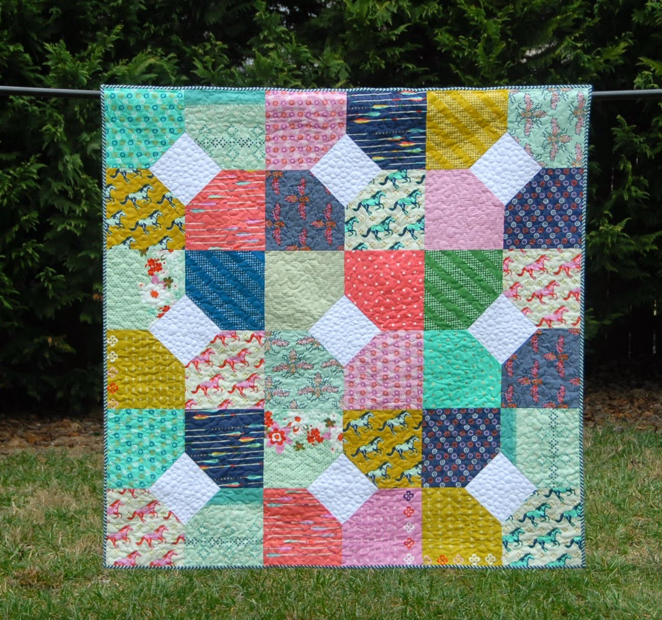 Meadow Mist Designs: Layers of Charm with the Fat Quarter Shop