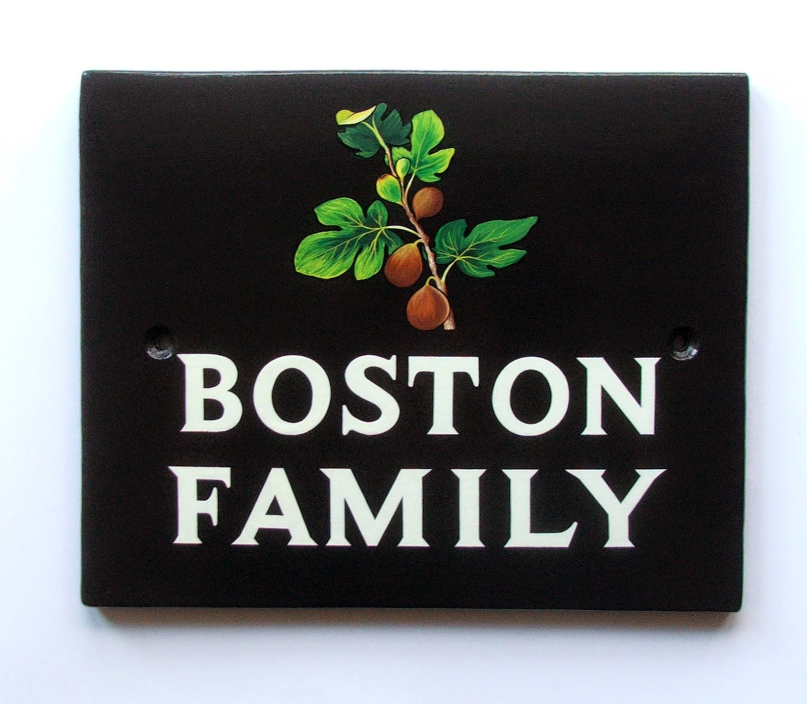 Hand Painted House Signs by Ceramic Art Traditional House Signs and