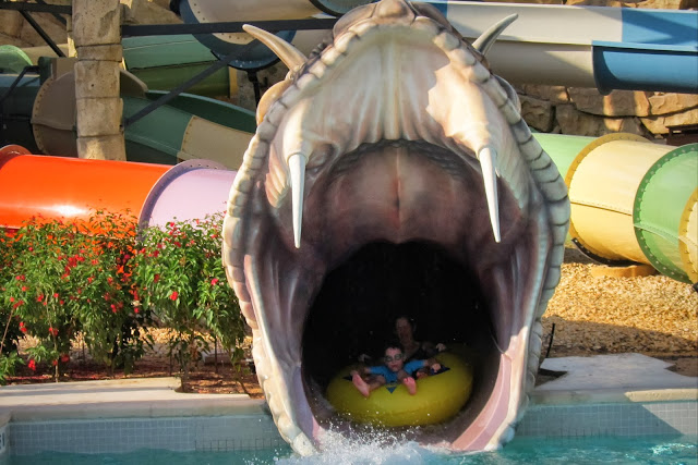 Slither Snakes hydroslide at Yas Waterworld