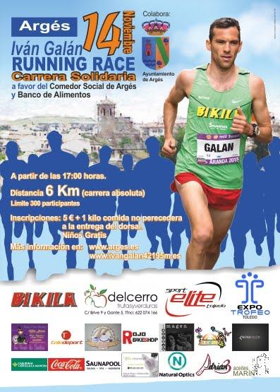 Iván Galán Running Race en Argés