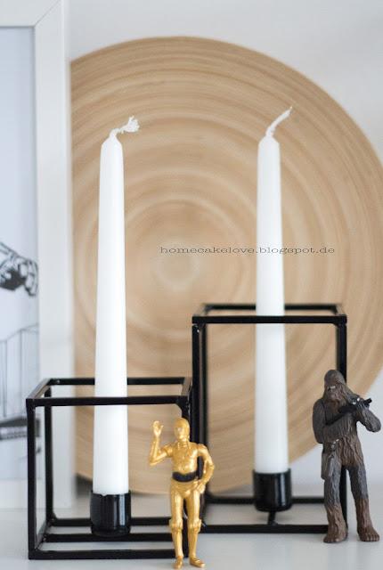 Kubus , Star Wars Dekoration , im Esszimmer
