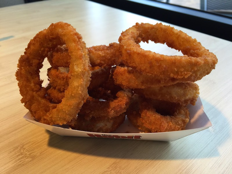 Onion rings at Habit Burger