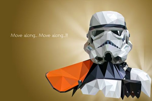 Star Wars Polygonal Portraits