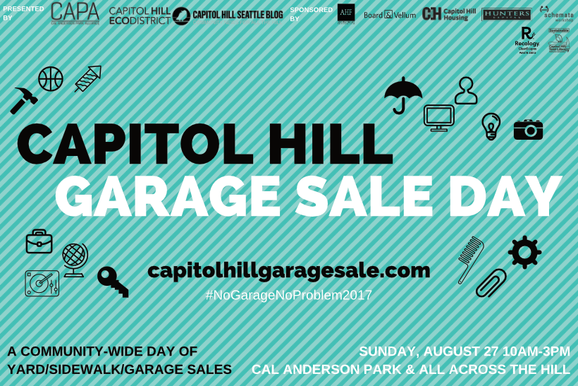Capitol Hill Community Garage Sale Day