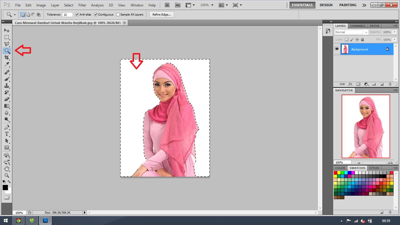 Cara Menghapus dan Mengganti Background Foto Dengan Photoshop