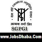 Sanjay Gandhi Postgraduate Institute of Medical Sciences, SGPGIMS Recruitment, Lucknow Jobs, Sarkari Naukri