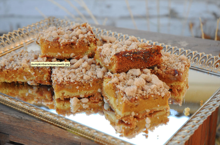 Recipe For Pumpkin Spice Cake Bars