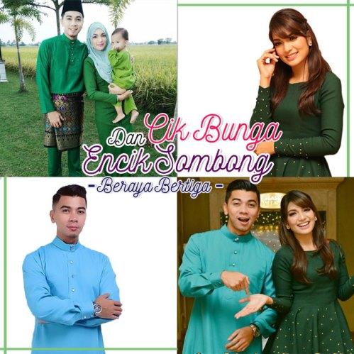 Cik Bunga Encik Sombong Beraya Bertiga (2015) , Tonton Full Telemovie, Tonton Telemovie Melayu, Tonton Drama Melayu, Tonton Drama Online, Tonton Drama Terbaru, Tonton Telemovie Melayu.
