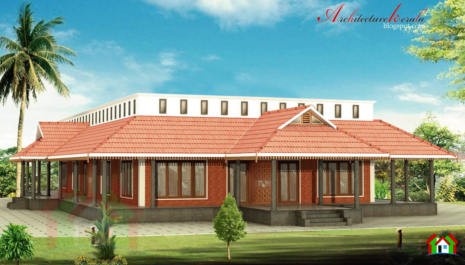 Nalukettu house in 3000 sq ft architecture kerala for New model veedu photos